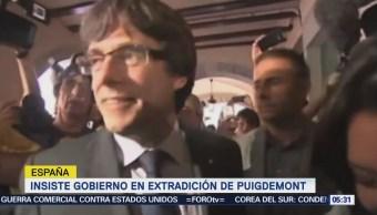 Medios esperan que Carles Puigdemont salga de prisión tras pago de fianza