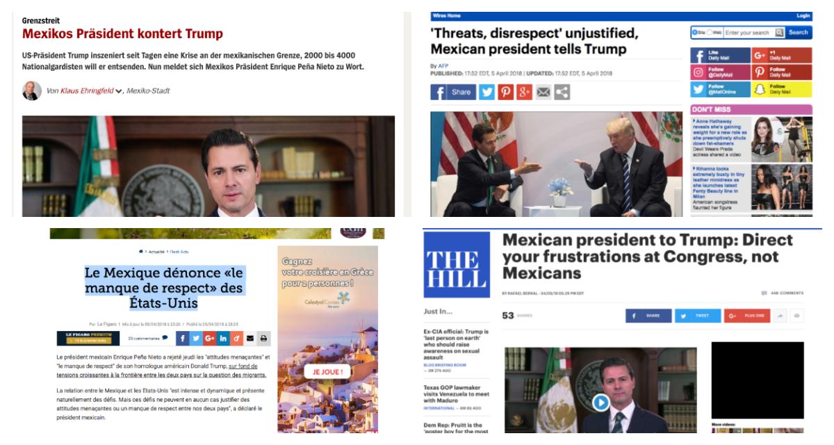 Trump arremete contra demócratas por tema de seguridad fronteriza