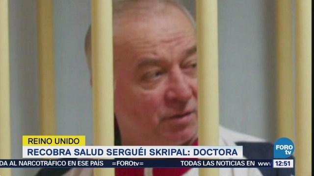 Mejora la salud del exespía Serguéi Skripal, informan médicos