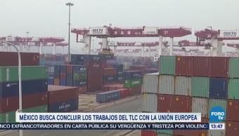 México Busca Concluir Trabajos Tlc Unión Europea