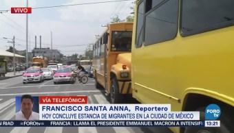 Miembros Viacrucis Migrante Continúan Camino Norte México