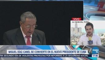 Miguel Díaz-Canel seguirá legado de los hermanos Castro