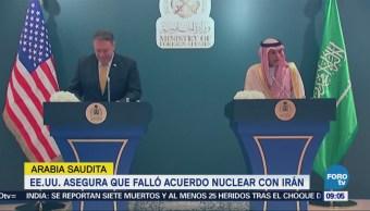 Mike Pompeo Acuerdo Nuclear Irán, Ha fallado