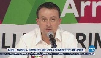 Mikel Arriola Presenta Estrategia Mejorar Calidad Suministro Agua
