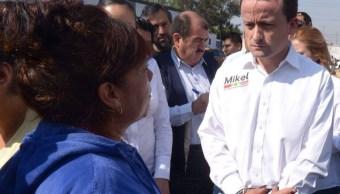 Mikel Arriola realiza recorrido por Iztapalapa; acusa ineficiencia en seguridad