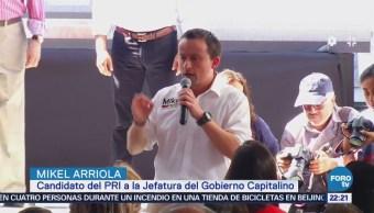 Mikel Arriola Critica Candidatos Presidenciales