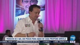 Mikel Arriola Propone Pensión Amas Casa Mayores 60 Años