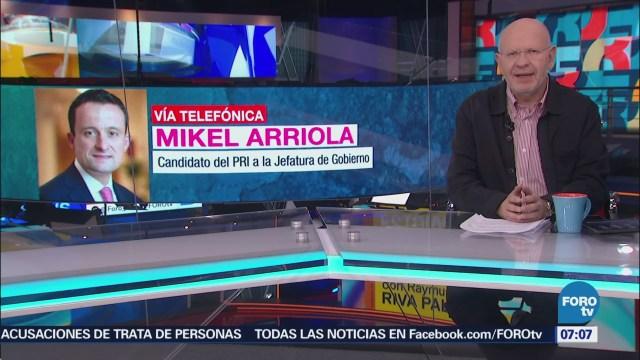 Mikel dice que sus propuestas pueden lograr una mejor ciudad
