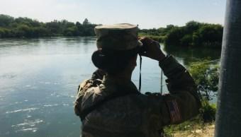 Llega avanzada de la Guardia Nacional a frontera de El Paso, Texas