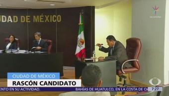 No logran echar abajo candidatura de Marco Rascon