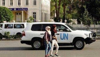 ONU negocia Siria y Rusia seguridad expertos armas químicas