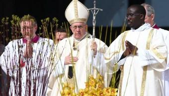 Papa Francisco condena uso de armas químicas en Siria