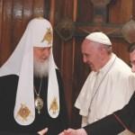 Papa Francisco y patriarca Kirill instan al diálogo en Siria