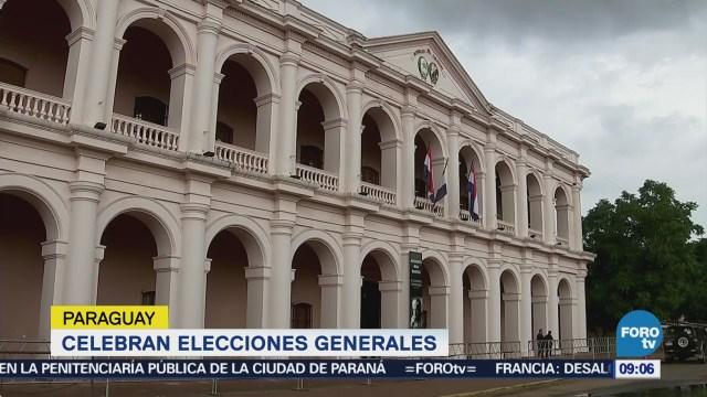 Paraguay Celebra Elecciones Generales