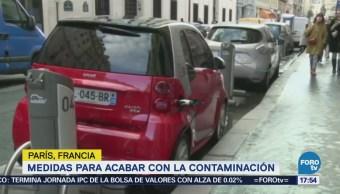 París prohibirá para 2030 el uso de vehículos a gasolina
