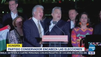 Partido conservador encabeza las elecciones en Hungría