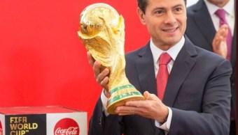 Estaré atento de desempeño de Selección Mexicana: EPN
