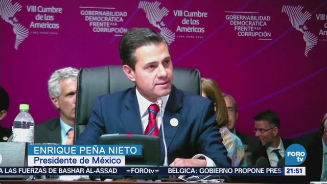 Enrique Peña Nieto Concluye Agenda Cumbre Américas