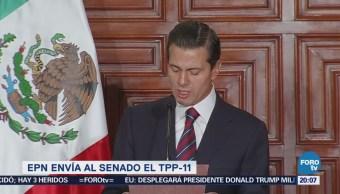 Peña Nieto envía al Senado el TPP-11