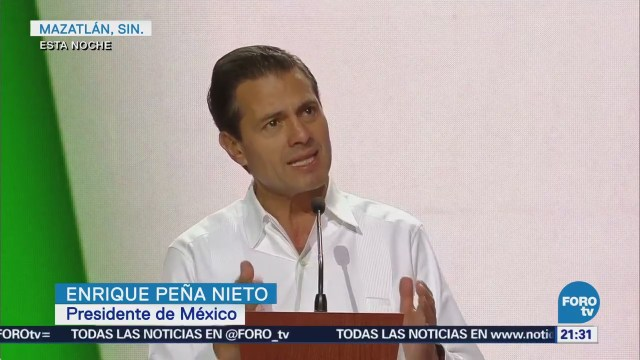 Peña Nieto Inaugura Tianguis Turístico Mazatlán Sinaloa