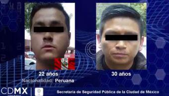 detienen peruano robo iztacalco cuentahabiente agricola