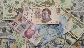 Peso mexicano gana mejor nivel en dos semanas