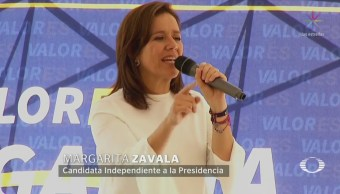 Margarita Zavala Firme Posicionamientos Campaña Electoral
