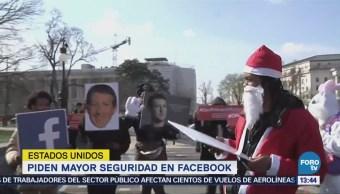Piden Mayor Seguridad Facebook