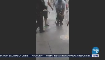 Pitbull muerde a niña en explanada de la delegación Iztacalco