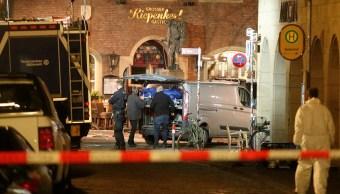 Policía confirma que atacante Münster actuó motivos suicidas