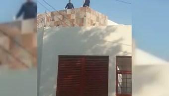 policia evita sucidio de una mujer en la delegacion alvaro obregon
