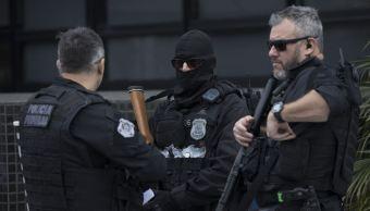 Operativo policial espera a Lula en Curitiba en clima tenso