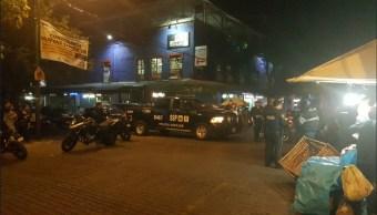 motociclistas golpean a dos policias en calles de coyoacan