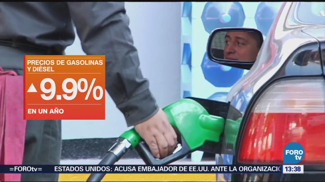 Precios Gasolina Diésel Mantienen Marzo