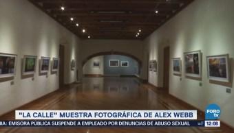 Presentan la exposición fotográfica 'La Calle' de Alex Webb