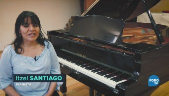 Primera Egresada Discapacidad Facultad Música Unam