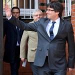 Puigdemont sale de la prisión alemana
