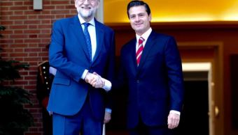 Rajoy ratifica a Peña Nieto el papel de España como socio leal de México