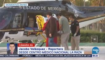 Realizan traslado de corazón a hospital de Magdalena de la Salinas