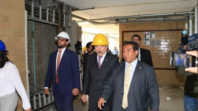 Inicia reconstrucción de inmuebles del IPN dañados por sismo