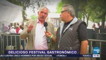 Recorrido por un festival gastronómico en Chapultepec
