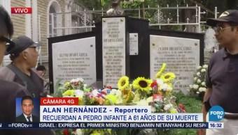 Recuerdan Pedro Infante Aniversario Luctuoso Muerte Cdmx