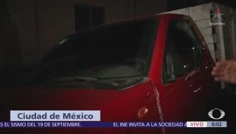 Recuperan camioneta robada en la delegación Magdalena Contreras, CDMX