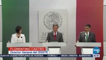 Recursos de PESIONISSSTE no están en riesgo: Florentino Castro