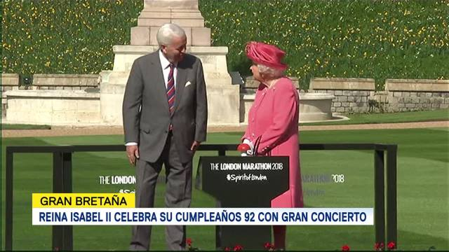 Reina Isabel Ii Inaugura Maratón Londres