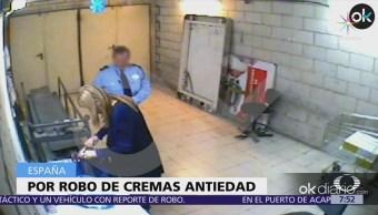 Renuncia la presidenta de la comunidad de Madrid por robo de cosméticos