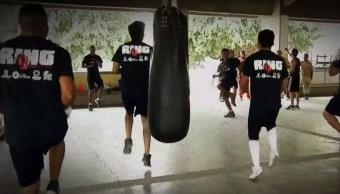 'Ring, boxeando para la reinserción' entrena a reclusos en penal de Morelos