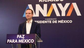 La política es un asunto de equipo, dice Ricardo Anaya