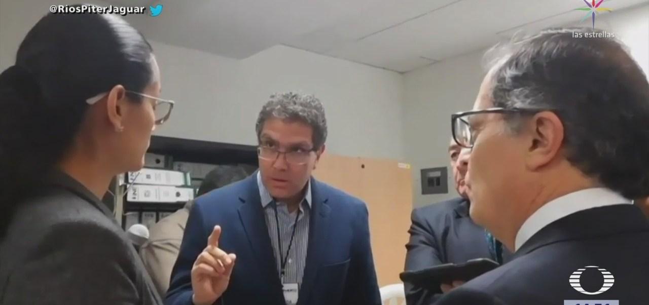 Ríos Piter anuncia que suspende revisión de firmas