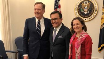 Canadá y México dicen que hay progresos en el TLCAN
